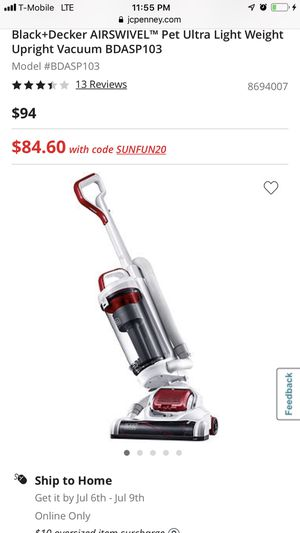 Black and decker air swivel vacuum for Sale in Cleveland, OH