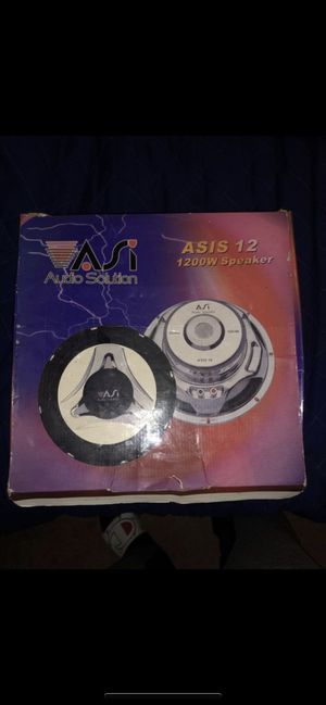Audio Solution 12inch Subwoofer trade for Sale in Castro Valley, CA