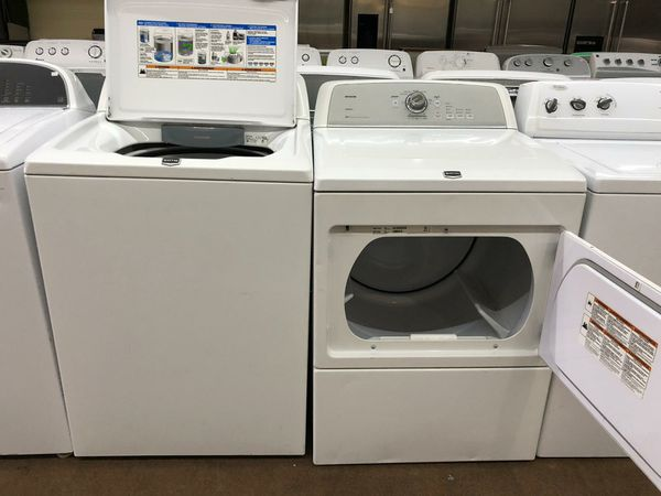 Maytag Set Washer and Dryer Electric