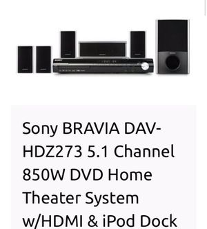 Sony Bravia home theater system for Sale in Wayland, MA