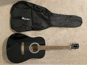 Gibson Maestro Acoustic Guitar with Case for Sale in Menifee, CA