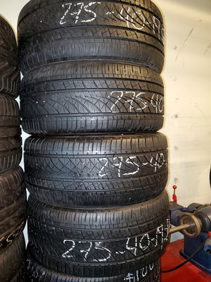 USED TIRES IN GOOD CONDITION IN ANY SIZE for Sale in Garden Grove, CA