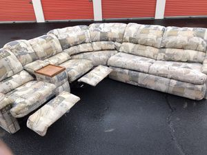 Reclining Pullout Bed Sectional only $225 for Sale in Carbondale, IL