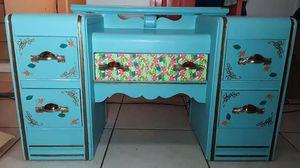 Antique Vanity/desk/drawer for Sale in Palmdale, CA