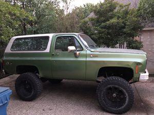 76 Chevy Blazer K5 for Sale in San Antonio, TX
