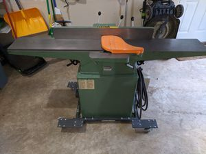 """General 8"""" Longbed Jointer w/ Helical Cutter Head for Sale in Ashburn, VA"""