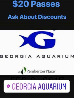 Georgia Aquarium Tickets for Sale in Atlanta, GA