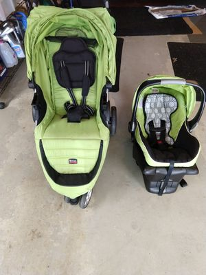 Britax B-Agile Infant Car Seat, Base, and Stroller for Sale in Burrillville, RI