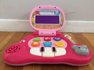 VTech Baby's Light-Up Laptop, Pink for Sale in La Jolla, CA