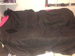 Black futon/ bed for Sale in Orlando, FL