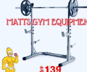 New Squat Rack Olympic (weights And Bar Sold Separately ) for Sale in Fort Lauderdale,  FL