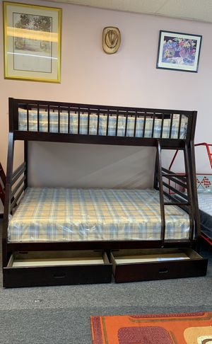 New Twin/Full bunk bed with mattress included $499 for Sale in Nashville, TN