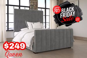 Queen Bed Frame ‼️Black Friday Sale‼️ for Sale in Dallas, TX