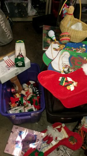 Lot of Christmas Decorations all for $5 for Sale in Auburn, WA