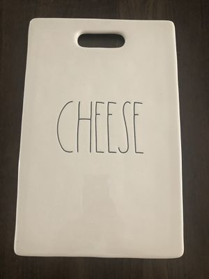 Rae Dunn Cheese platter Large size 15 dollars for Sale in Fort McDowell, AZ