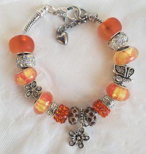 Orange Charm Bracelet Buy 1 for $15 or 2 for $25 for Sale in Baltimore, MD