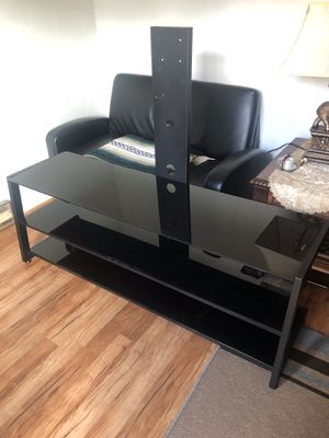 Black Tv Stand for Sale for Sale in Fairfax Station, VA