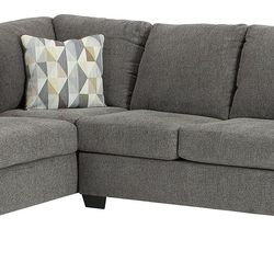 NEW, CHARCOAL COLOR, LAF CORNER CHAISE SECTIONAL. for Sale in Santa Ana,  CA