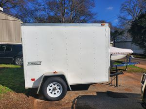 5×8 enclosed trailer with ramp for Sale in Whitehouse, TX