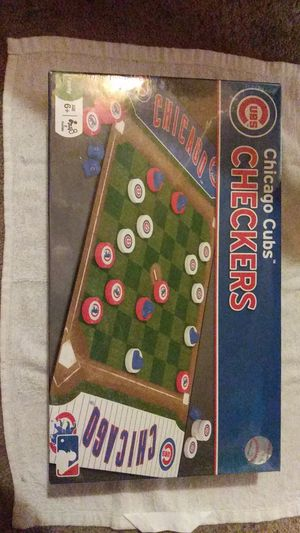 Chicago cubs checkers game for Sale in Milwaukie, OR