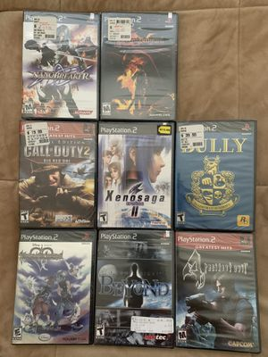 SEALED PS2 GAMES for Sale in Upland, CA
