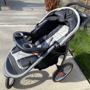 Graco FastAction Fold Jogger Travel System, Gotham for Sale in Pittsburgh, PA