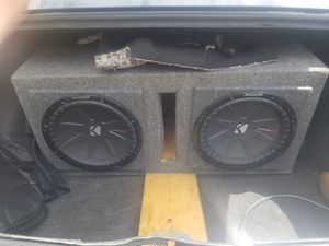 Kicker comp r subwoofers for Sale in Irvine, CA
