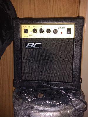 Bc mini guitar amp & guitar soft case for Sale in Magna, UT