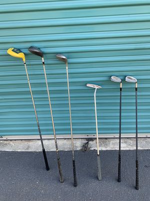 Golf clubs - irons and drivers for Sale in Buena Park, CA