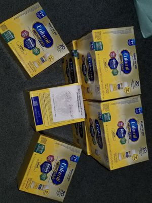 Selling or trading 7 Enfamil ready to use cases for Sale in San Antonio, TX