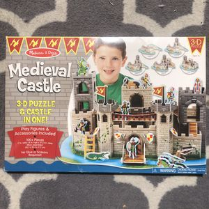 3D castle puzzle for Sale in San Mateo, CA