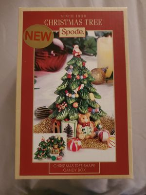Spode Christmas Tree Candy Box for Sale in Blountville, TN