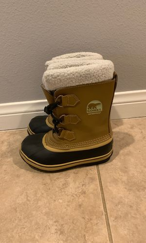 Sorel Waterproof Kids Boots, Size 1 for Sale in Temecula, CA