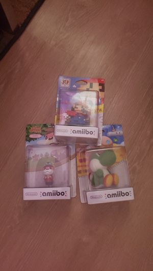 Boxed amiibos 20 ea or all for 40 for Sale in Portland, OR