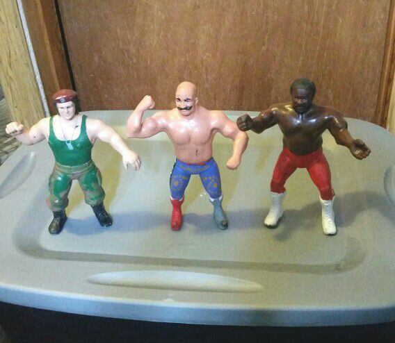 Classic 80's WWF Wrestling Action Figures