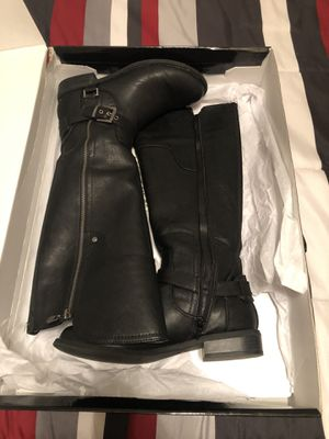 Black Boots By Guess Size 8 for Sale in Roseville, CA