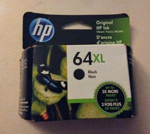 NEW!!! HP INK 64XL Black for Sale in Vancouver, WA