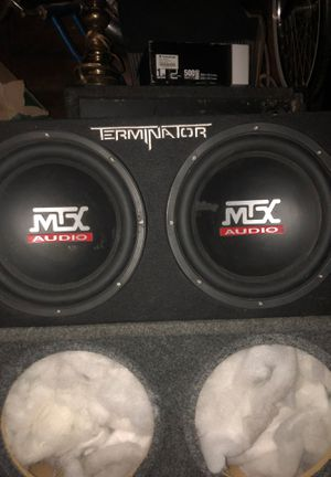 Two 12s bump good $150 for Sale in Bloomington, CA