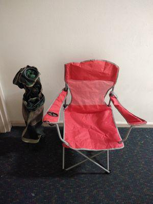 2 umbrella folding chairs for Sale in Hampton, VA