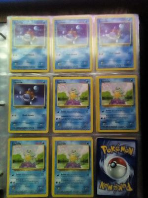 Squirtle pokemon card collection for Sale in Cleveland, OH