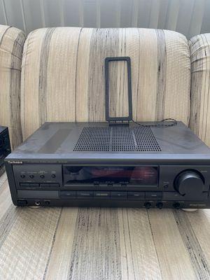 Technics SAE-EX320 home audio receiver Dolby 5.1 digital for Sale in Wilmington, DE