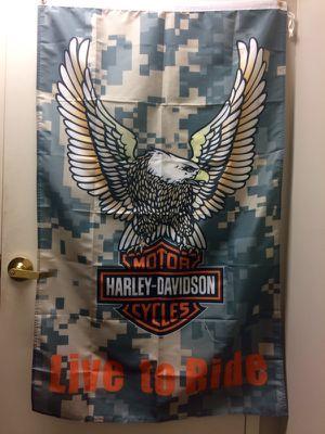Harley Davidson Digital Camo Banner for Sale in Jacksonville, FL