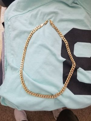 Real fake gold chain for Sale in Salinas, CA