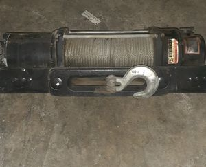 12,000 lb winch practically new for Sale in Stockton, CA