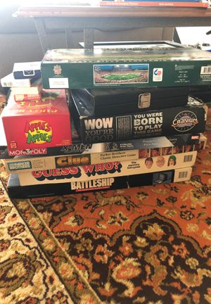 Board games for Sale in Royal Oak, MI
