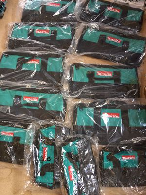 Makita tool bags for Sale in Castro Valley, CA