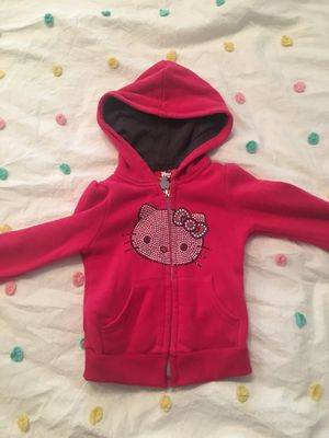 Hello Kitty 2T pink hoodie for Sale in Issaquah, WA