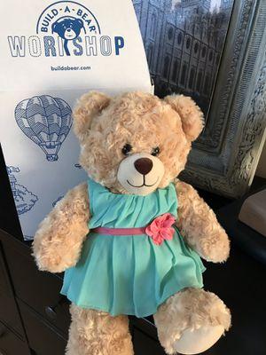 Brand new build a bear Teddy bear for Sale in Lehi, UT