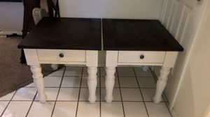 Nightstands night stands bedside tables end tables side tables farmhouse off white set 2 two for Sale in Glendale, AZ