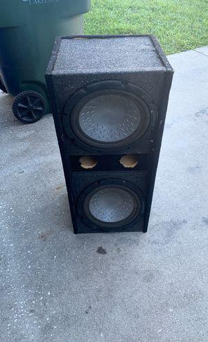 Sub speakers 2 12's old pioneers still work for Sale in Lakeland, FL